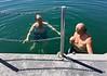 Larry & John cool off