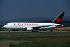 C-FVNM Boeing 767-209ER c/n 22681 Glasgow/EGPF/GLA 10-08-95 (35mm slide)