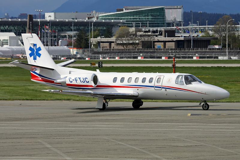 C-FTJC Cessna 560 Citation Encore c/n 560-0544 Vancouver/CYVR/YVR