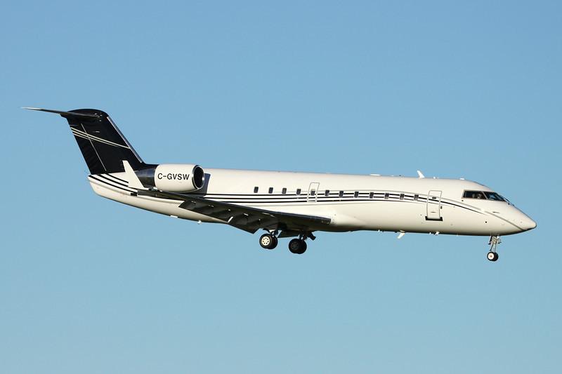 C-GVSW Canadair CRJ-100ER RegionalJet c/n 7460 Prestwick/EGPK/PIK 10-11-13