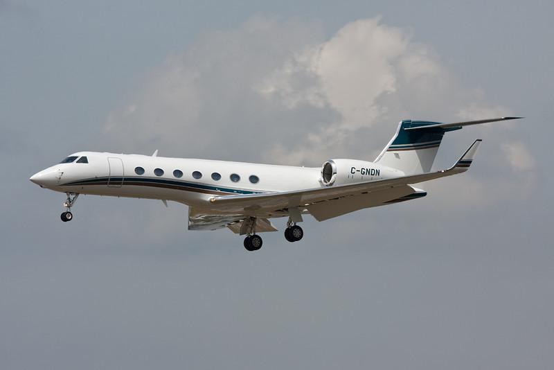 C-GNDN Gulfstream G550 c/n 5230 Frankfurt/EDDF/FRA 01-07-10