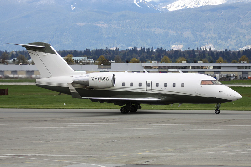 C-FASD Bombardier 604 Challenger c/n 5549 Vancouver/CYVR/YVR 27-04-14
