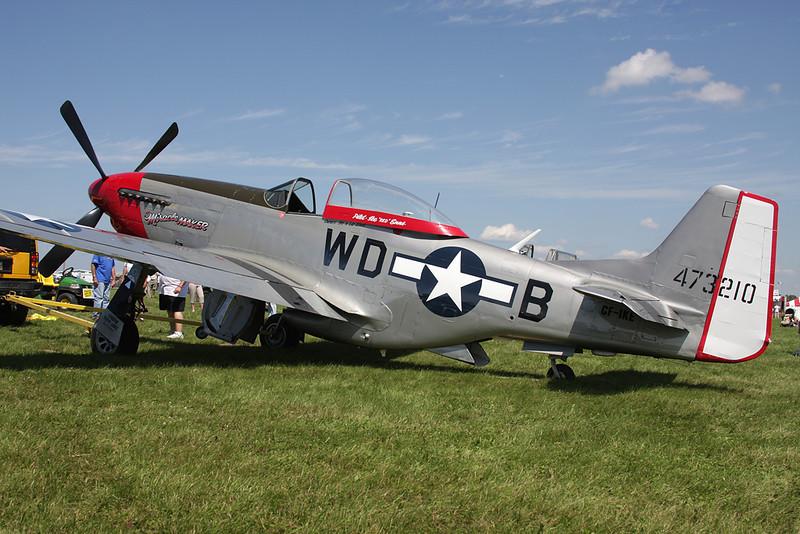 CF-IKE (WD-B,473210) North American P-51D Mustang c/n 122-39669 Oshkosh/KOSH/OSH 26-07-10