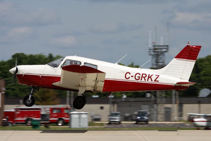 C-GRKZ Piper PA-28-140 Cherokee c/n 28-7425072 Oshkosh/KOSH/OSH 04-08-13