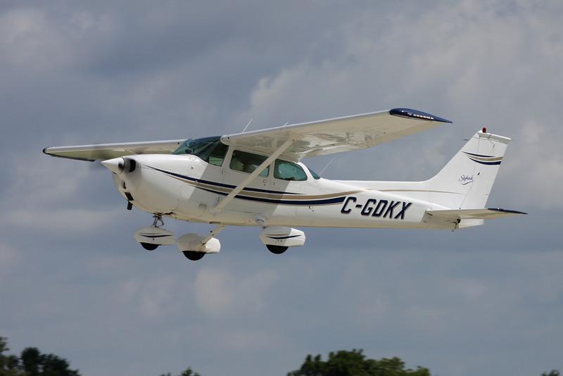 C-GDKX Cessna 172M c/n 172-63252 Oshkosh/KOSH/OSH 28-07-10