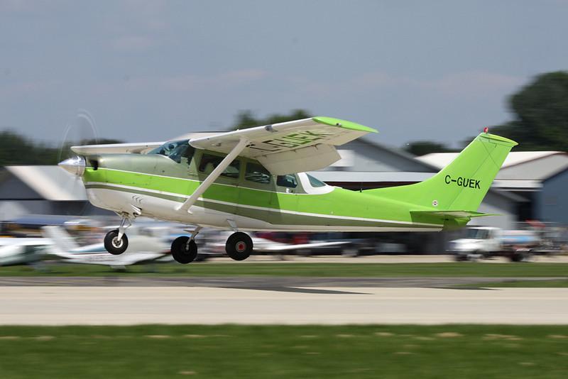 C-GUEK Cessna P206D Super Skylane c/n P206-0564 Oshkosh/KOSH/OSH 29-07-10