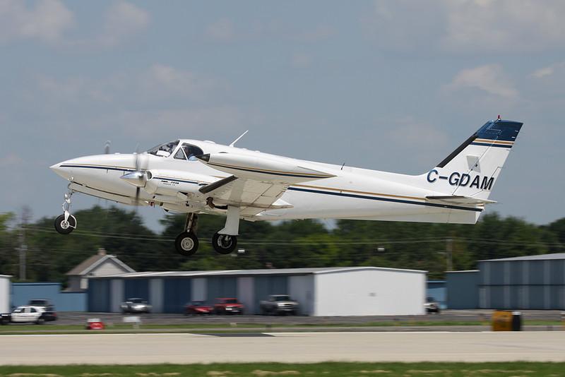 C-GDAM Cessna 340A c/n 340A-1222 Oshkosh/KOSH/OSH 29-07-10