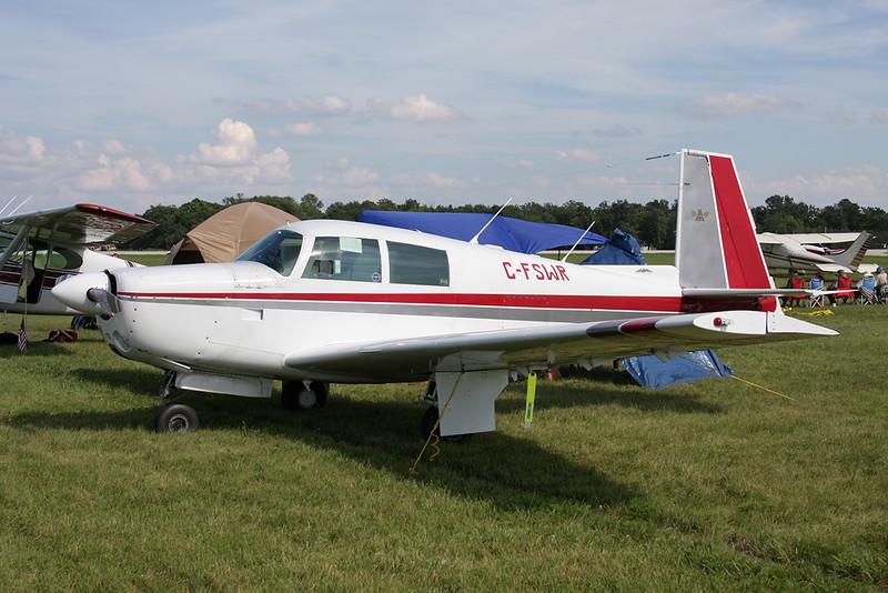 C-FSWR Mooney M.20E c/n 820 Oshkosh/KOSH/OSH 26-07-10
