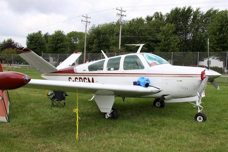 C-GDGM Beech V35B Bonanza c/n D-9215 Oshkosh/KOSH/OSH 31-07-13