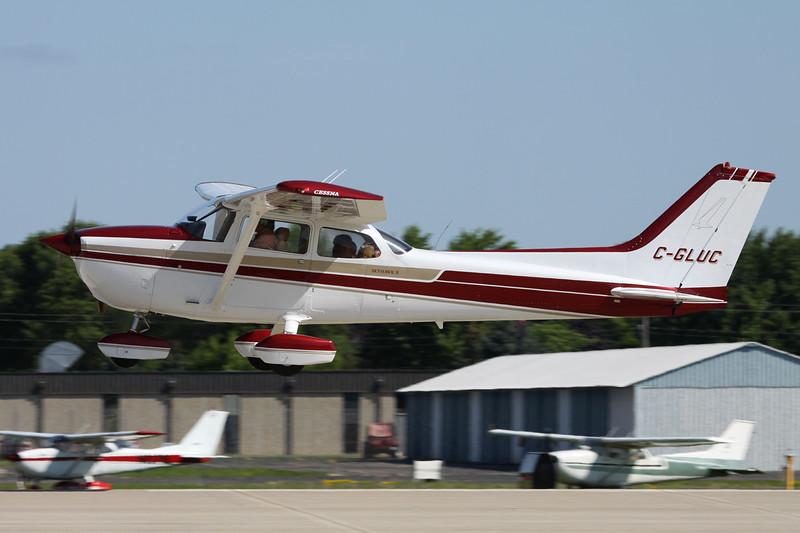 C-GLUC Cessna 172M c/n 172-65850 Oshkosh/KOSH/OSH 04-08-13