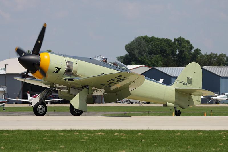 C-FGAT Hawker Sea Fury T.20 c/n 41H/623282 Oshkosh/KOSH/OSH 29-07-10