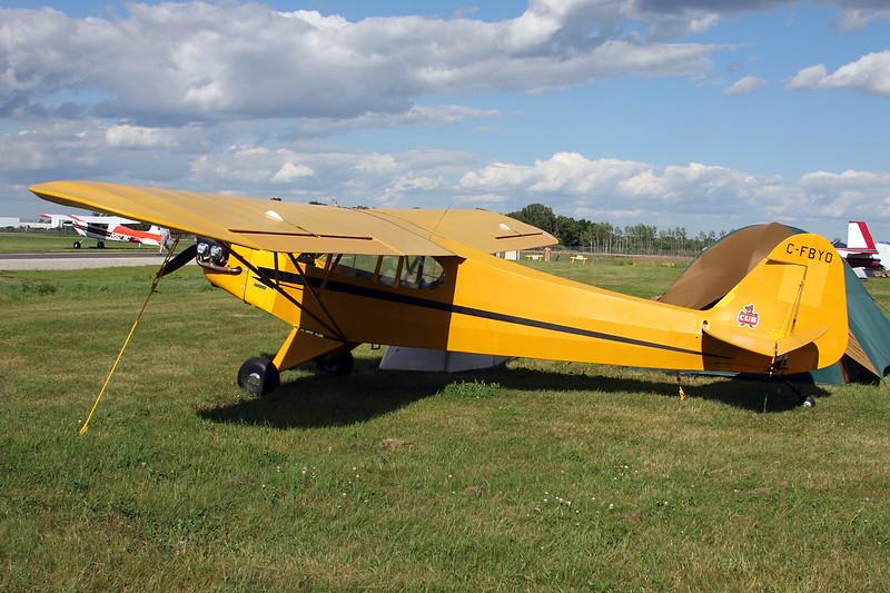 C-FBYO Piper J/3C 65 Cub c/n 19314 Oshkosh/KOSH/OSH 01-08-13