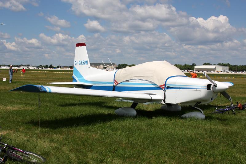 C-GXSW American Aviation AA-5 Taveler c/n 0087 Oshkosh/KOSH/OSH 01-08-13