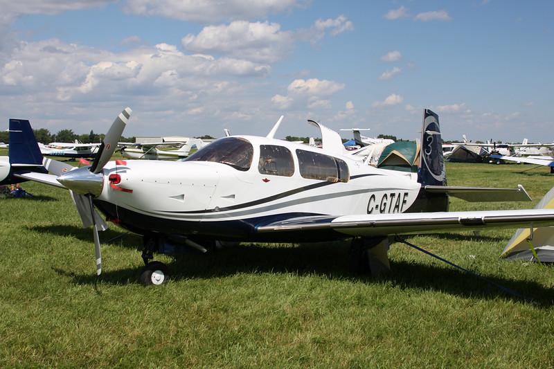 C-GTAF Mooney M.20R c/n 29-0460 Oshkosh/KOSH/OSH 01-08-13