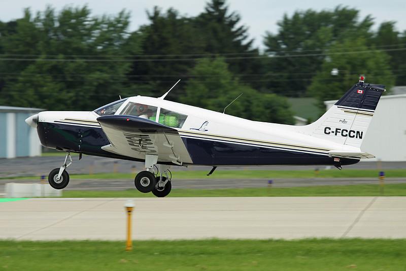 CF-CCN (C-FCCN) Piper PA-28-140 Cherokee c/n 28-7325304 Oshkosh/KOSH/OSH 28-07-10