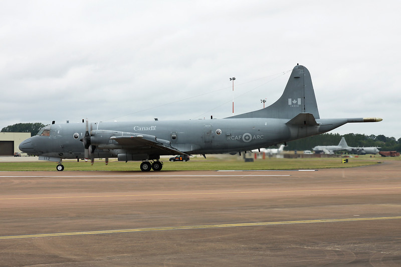 "140112 Lockheed CP-140 Aurora ""Royal Canadian Air Force"" c/n 5715 Fairford/EGVA/FFD 22-07-19"