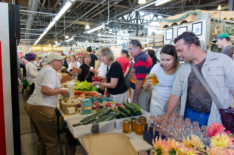 The Seaport Farmers' Market is a great experience.