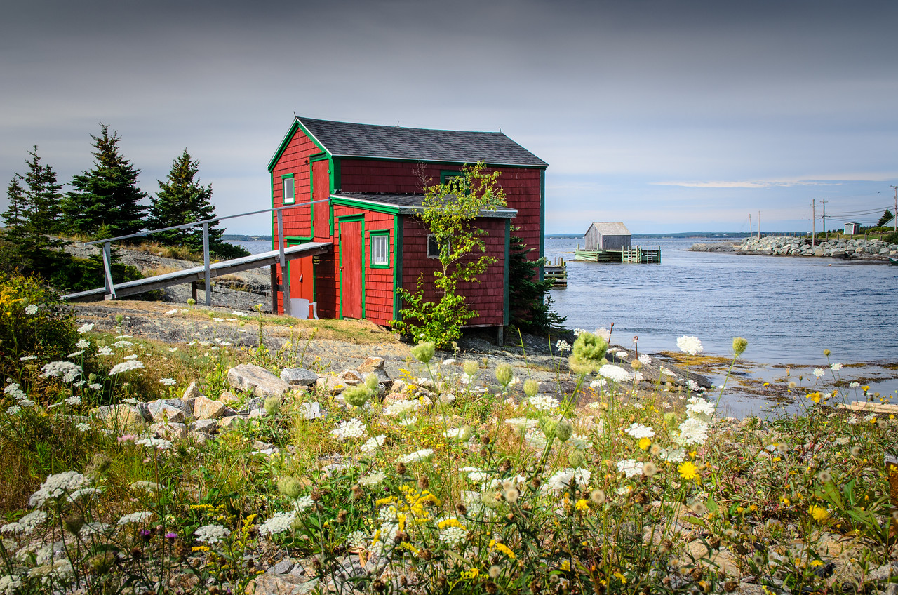 The small fishing village of Blue Rocks just east of Lunenburg.