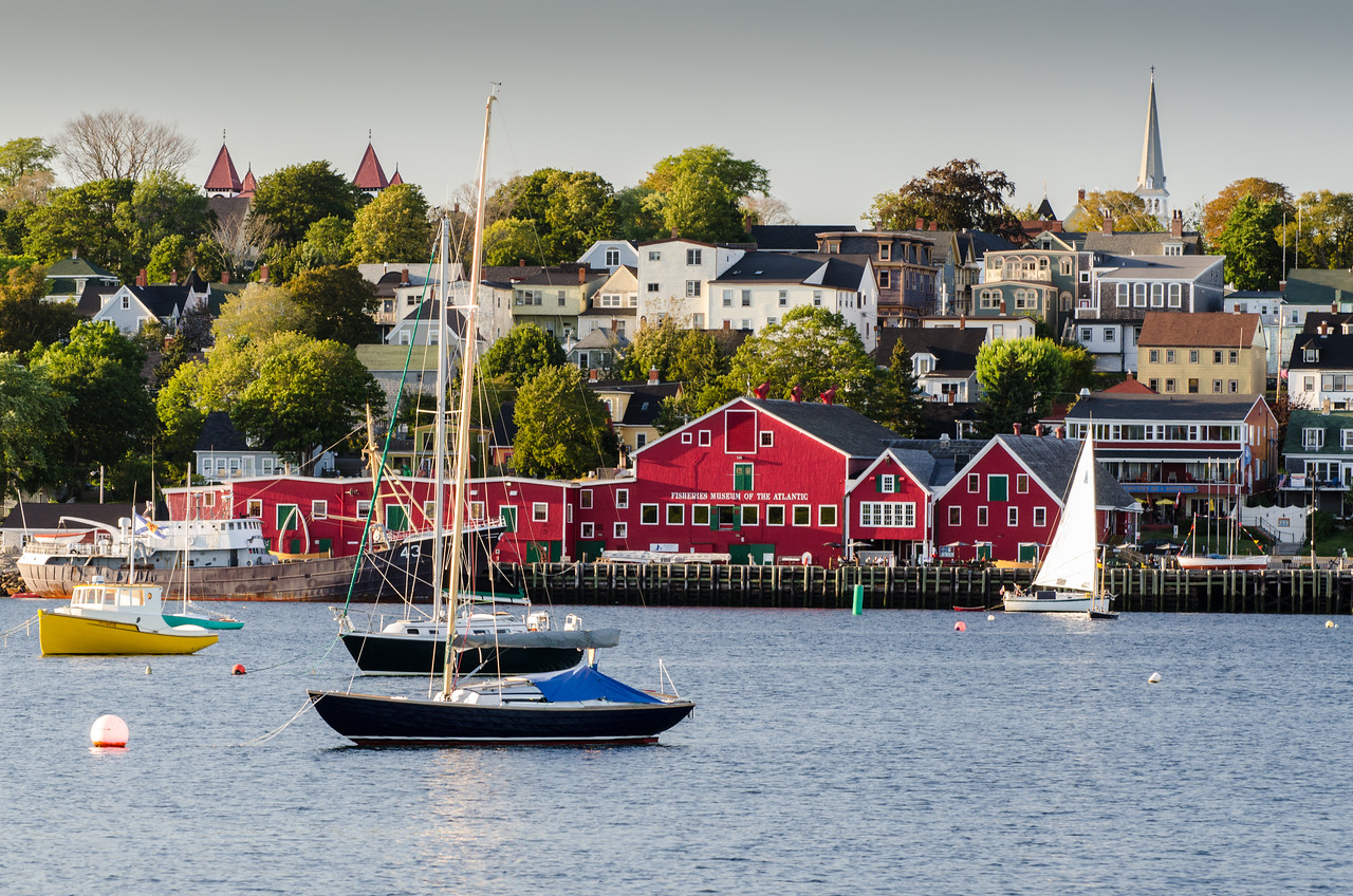 Lunenburg from across the harbor.