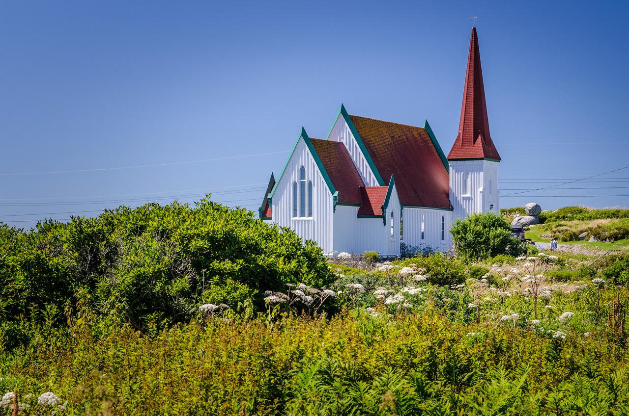 St John's Anglican Church, Peggy's Cove.