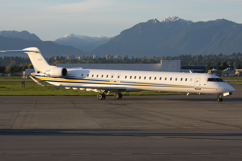 "C-GSUA Canada Regional-Jet 900 ""Suncor Energy"" c/n 15182 Vancouver/CYVR/YVR 30-04-14"