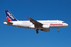 "C-GJUK Airbus A319-112 ""Skyservice Airlines"" c/n 1598 Las Vegas/KLAS/LAS 11-03-04 ""Conquest"" (35mm slide)"