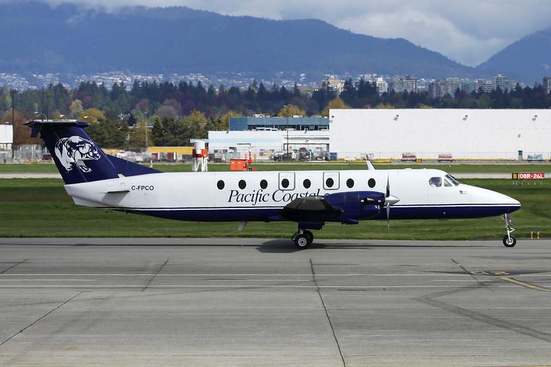 "C-FPCO Beech 1900C c/n UB-52 Vancouver/CYVR/YVR 27-04-14 ""Bear"