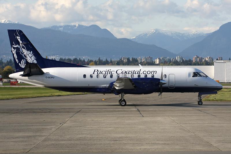 C-GCPU SAAB 340A c/n 140 Vancouver/CYVR/YVR 28-04-14