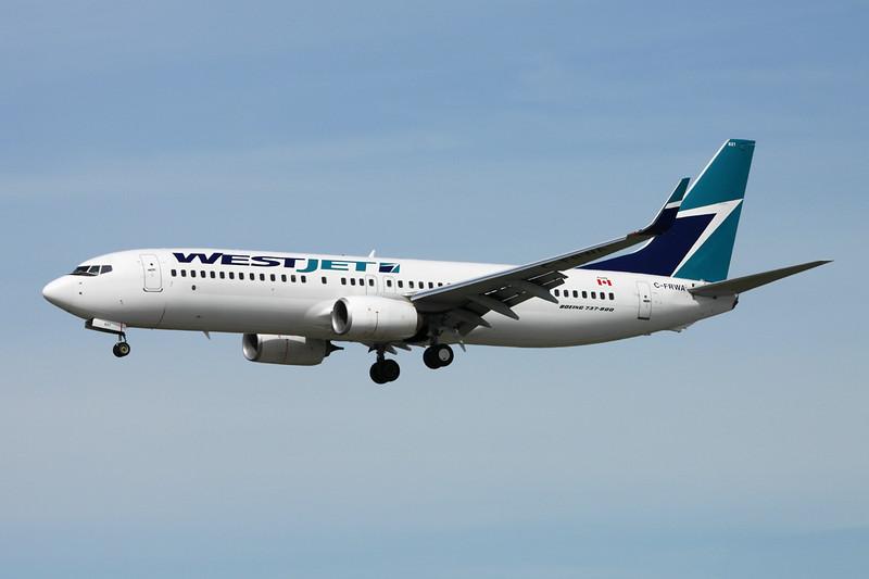C-FRWA Boeing 737-8CT c/n 39085 Vancouver/CYVR/YVR 29-04-14