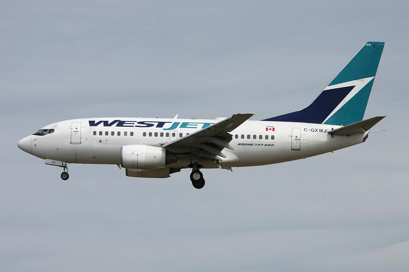 C-GXWJ Boeing 737-6CT c/n 35570 Vancouver/CYVR/YVR 29-04-14