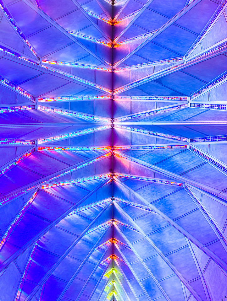 The Air Force Academy Cadet Chapel Ceiling