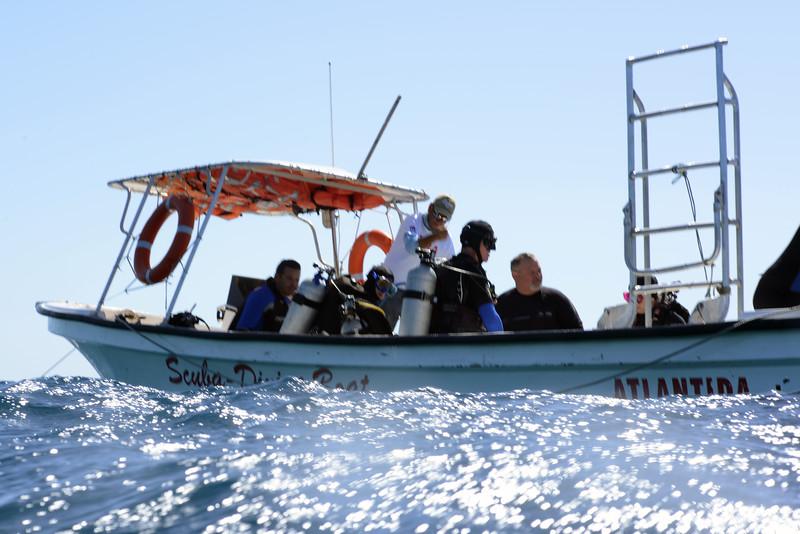 Atlantida Dive Boat