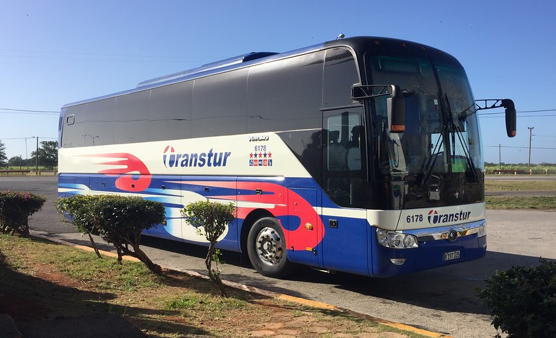 Our bus for the 5-hour ride to Cuba's southern coast.