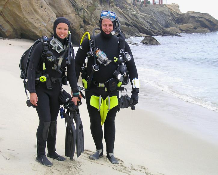 Cathy (?) & Aaron S.<br /> Laguna Beach