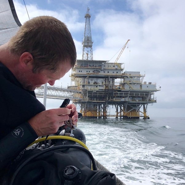 BioBlitz: Shawn<br /> Oil Rigs<br /> August 27, 2019