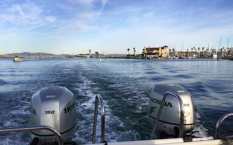 Departing King's Harbor<br /> Redondo Beach, California