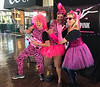 "Scuba Show 2019: Hamming it up with Stevie & Alli, at the Dive Into The Pink booth at the 2019 Scuba Show.  The non-profit organization was founded by Allison Vitsky Sallmon, a cancer survivor, dedicated to raising funds to fight breast cancer.<br /> <a href=""https://www.diveintothepink.org/"">https://www.diveintothepink.org/</a>"