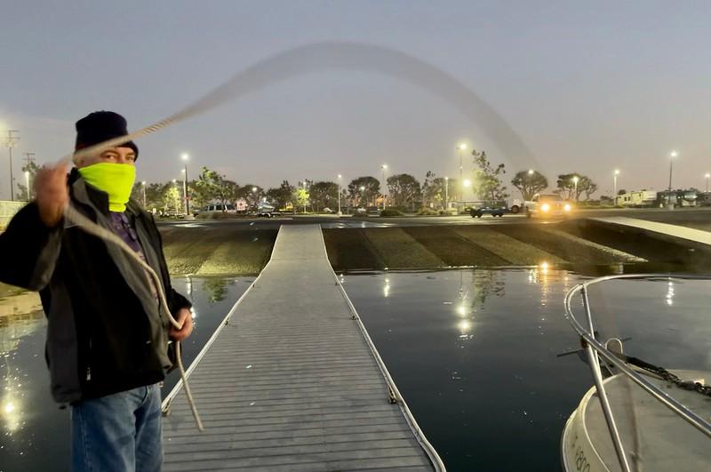 Walter, now awake, wants to play skip the rope.<br /> Huntington Harbor, California<br /> January 9, 2021