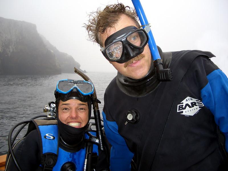 Linda Blanchard & Walter Marti<br /> Anacapa Island