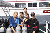 Alica H., Anita D., Matt, Kevin L., & Allison V.<br /> Marissa Dive Boat, San Diego<br /> Photo by Roberto A.