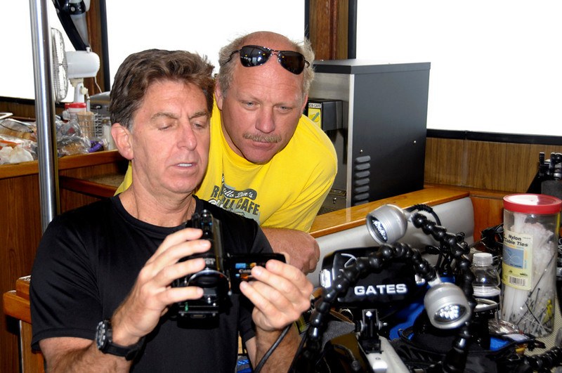 Michael B. & Dave Hinkel<br /> OCUPS Shootout, August 1, 2010<br /> Catalina Island, California