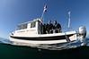 Merry & Phil aboard No Pressure<br /> Off San Pedro