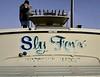 Walter on the Sly Foxx<br /> Huntington Harbor, California<br /> January 9, 2021