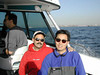 Kevin Lee & Ron Simmer, NAUI Instructor<br /> During open water certification dives, enroute to Catalina Island