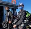 Kelly Bracken & Nayan<br /> Catalina Island<br /> Giant Stride<br /> November 29, 2020