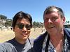 Dr. Bill Bushing & Kevin Lee, Crescent Bay, Laguna Beach, California<br /> April 14, 2018