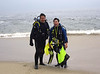 Kevin L. 8 & Aaron S., with full bug bags<br /> Laguna Beach, California