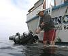 SOCDC, diver returns<br /> San Clemente