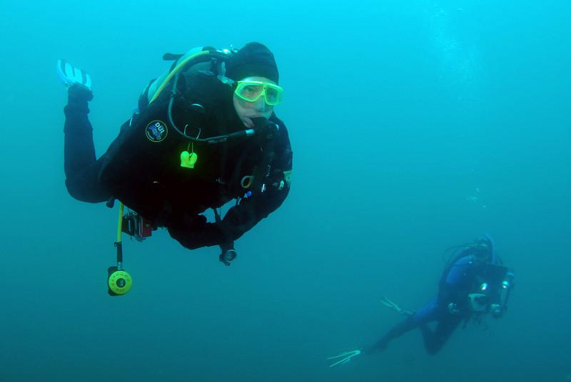 Bill M.<br /> Open water, 4 miles off Dana Point, California