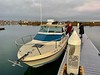 Captain Jim boarding the Sly Foxx<br /> Huntington Harbor, California<br /> January 9, 2021